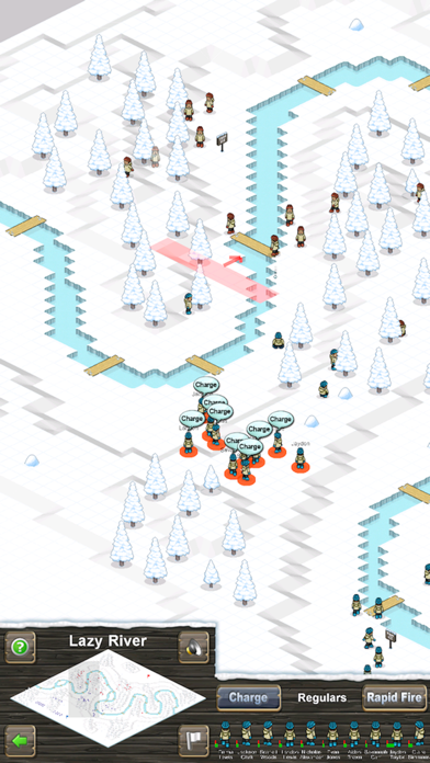 Snowballs! screenshot two