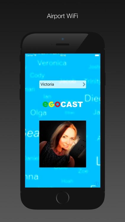 Egocast. WiFi social group