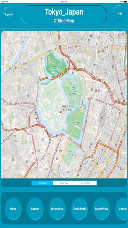 Tokyo Japan Offline City Maps Navigation