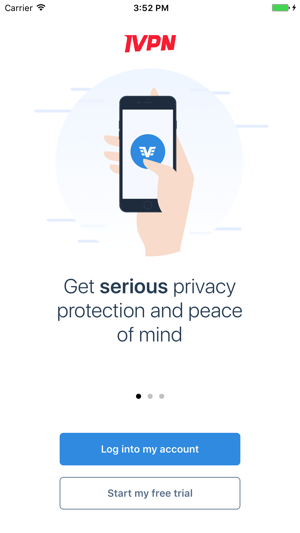 IVPN - Serious privacy protection & peace of mind Screenshot