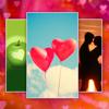 Kärlekskort – Jag älskar dig - Hälsningar Kärlek