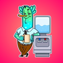 Office Plankton Stickers