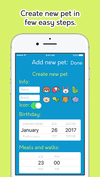 Pet Day - Your pet journal & planner screenshot four