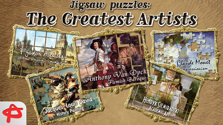 Greatest Artists: Free Jigsaw Puzzle screenshot-4