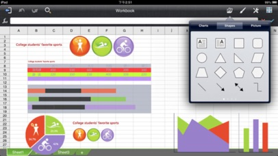 Quick Office Suite - for MS Office iWork Documents screenshot four
