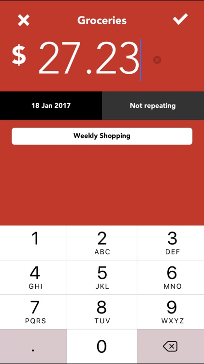 Track My Spending - Money Tracker screenshot-3