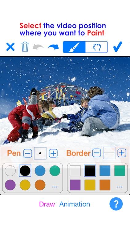 PaintVideo - Animate Paint on Video