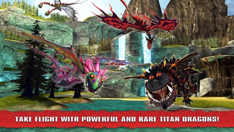 School of Dragons: How to Train Your Dragon screenshot-4