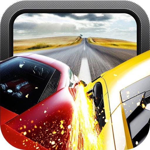 Red Speed Racer - самых разыскиваемых улице автомобильной погони