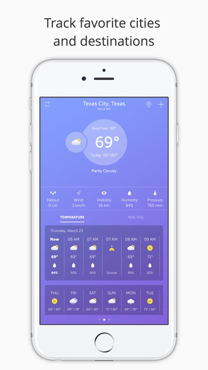 UltraWeather Pro: Weather Forecast and Maps screenshot-3