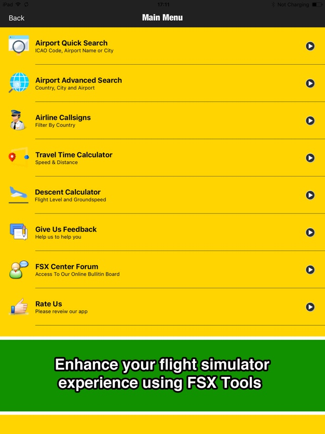 FSX Tools - Airports - FULL on the App Store