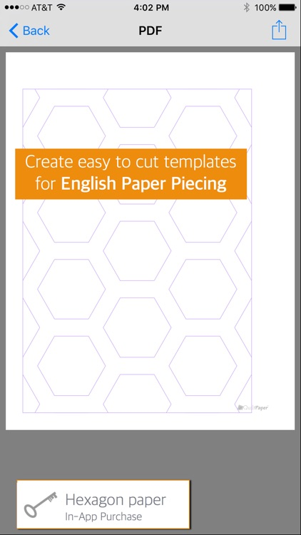 QuiltPaper - Graph paper for Quilters