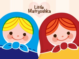 Little Matryoshka Stickers for iMessage