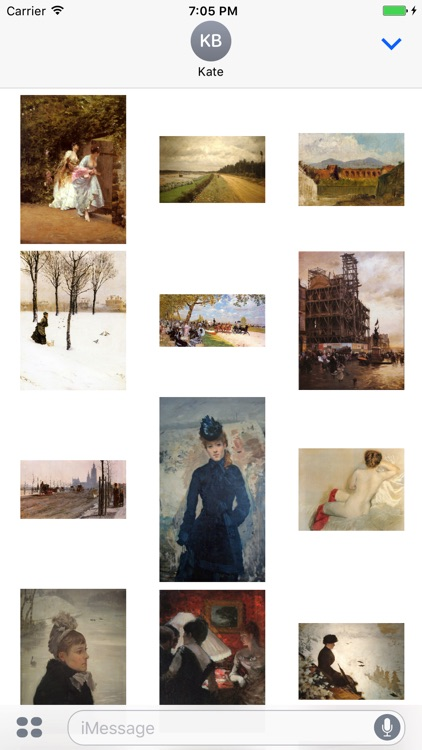 Giuseppe De Nittis - Artworks Stickers