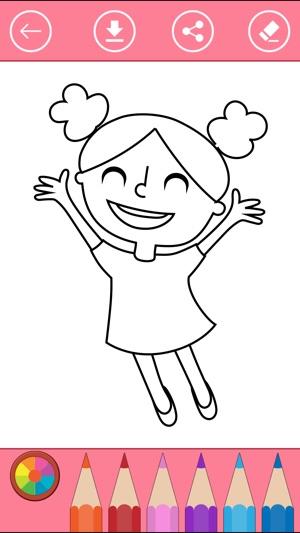 Ausmalbilder für Mädchen - Bilder zum Ausmalen. im App Store