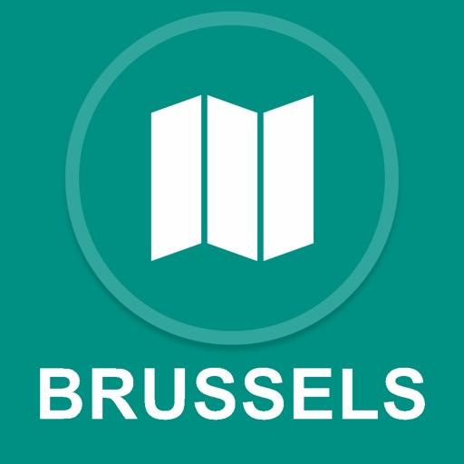 Brussels, Belgium : Offline GPS Navigation