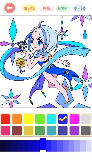 大人の塗り絵 絵描き色塗りゲーム 人気 Iphoneアプリ Applion
