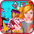 Princess Room Cleaning Games for Girls icon