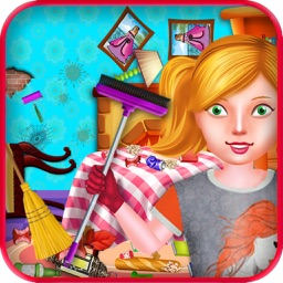 Princess Room Cleaning Games for Girls