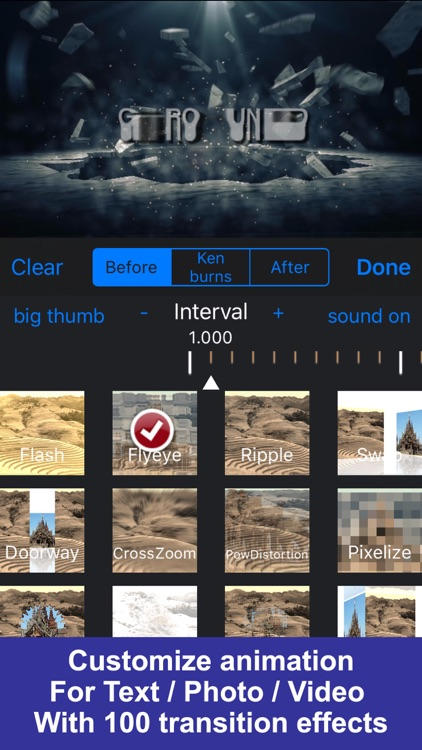 IntroMovies - Intro maker designer for iMovie screenshot-3