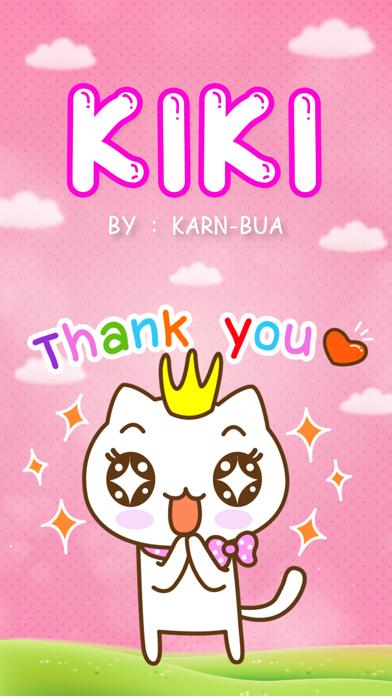 KIKI Stickers Emoji Keyboard By ChatStick screenshot three