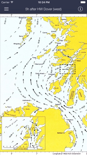‎Tidal Stream Atlas, Scotland & Ireland