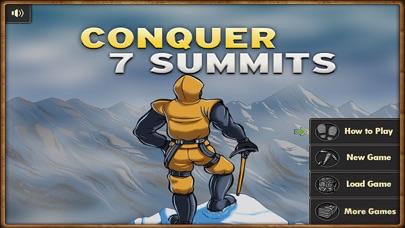 Conquer 7 Summits :Climb Mountain Simulation screenshot one