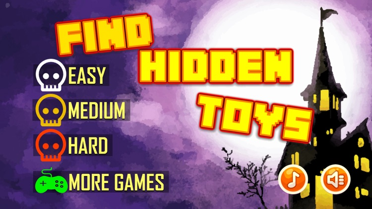 Find Hidden Toys Game - For Sans Undertale by Kunlapat Swangchan