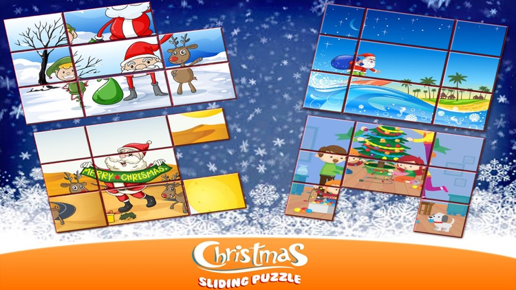 Christmas Sliding Puzzle for Kids screenshot-4