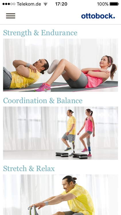 Fitness for amputees