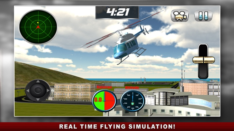 Flight Pilot Helicopter Game 3D: Flying Simulator