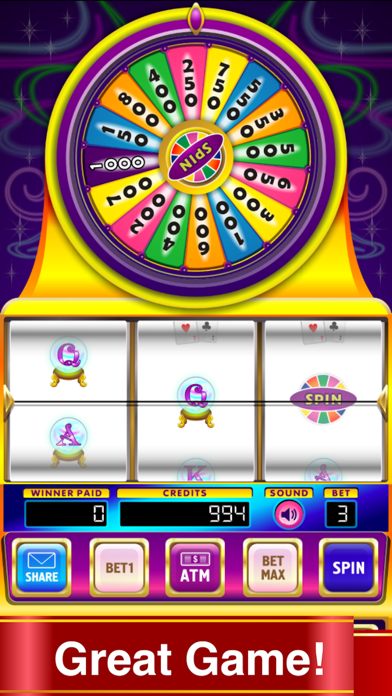 Crystal Ball Magic 8 Bonus Bet Billionaire Slots screenshot 1