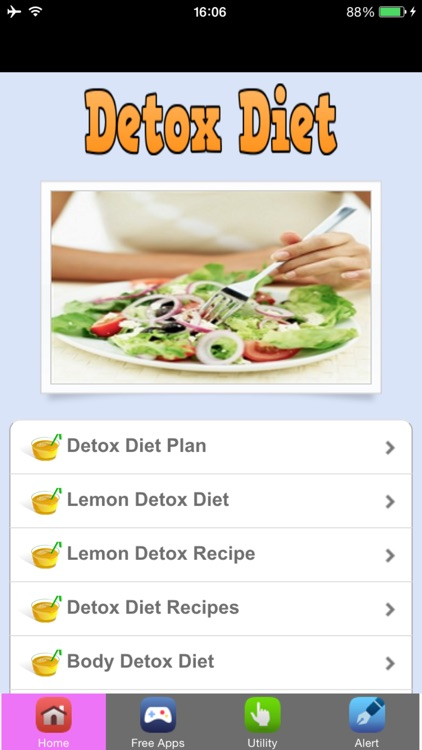 Detox Diet Plan & Detox Diet Recipes screenshot-1