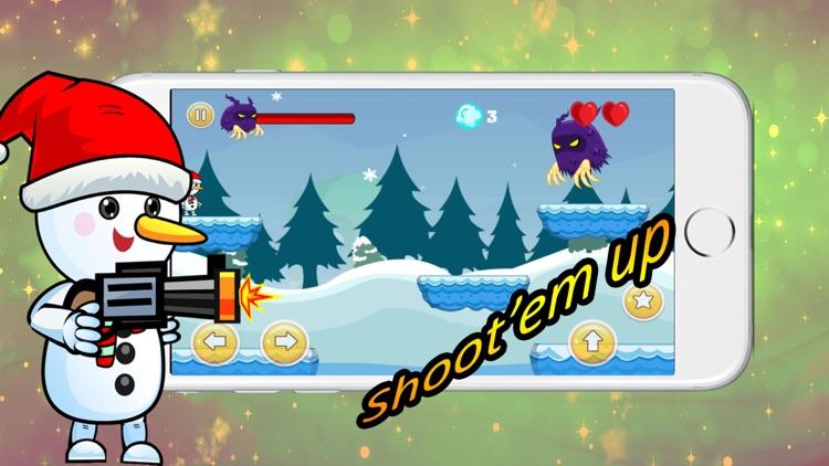 Snowman Adventure Game