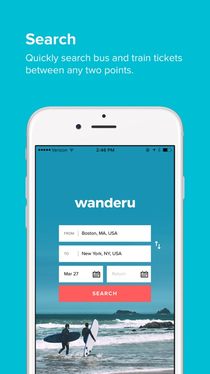 Wanderu screenshot-0