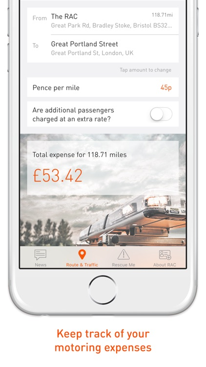 RAC Route Planner UK screenshot-2