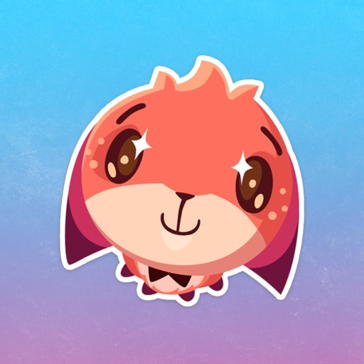 Little Cute Fox Stickers Pack for iMessage