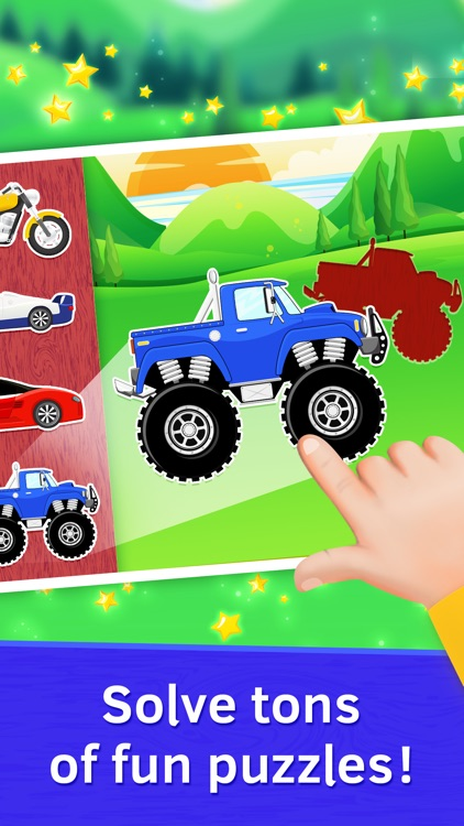 Baby Car Puzzles for Kids Free by Gadget Software Development and