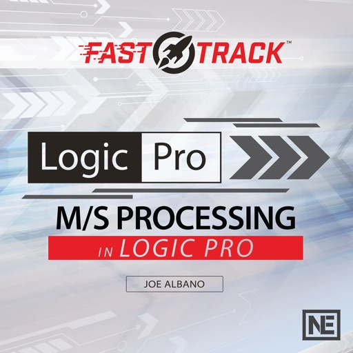 FastTrack™ for M/S Processing in Logic Pro iOS App