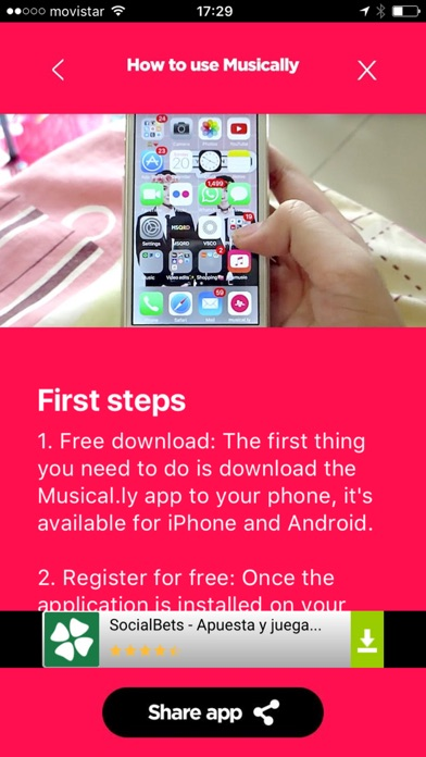 How to use for musically-2