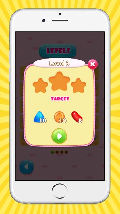 Cute Candy Blast Match 3 Candy Puzzle screenshot-3