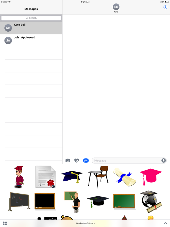 GRAD STICKERS screenshot 6