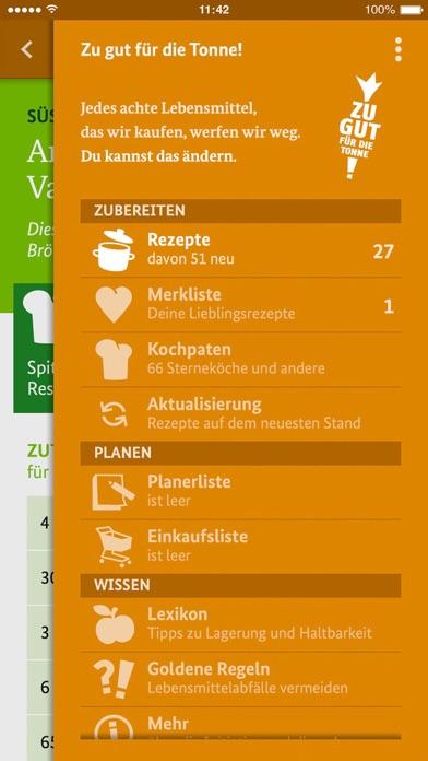 Screenshot for Zu gut für die Tonne! in Germany App Store
