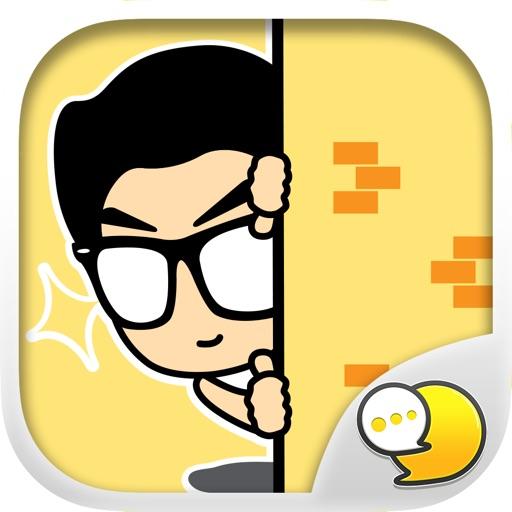 MASTERPEACE Stickers Emoji Keyboard By ChatStick