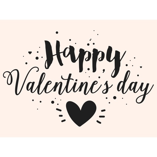 Valentine's Day Handwritten Love Stickers