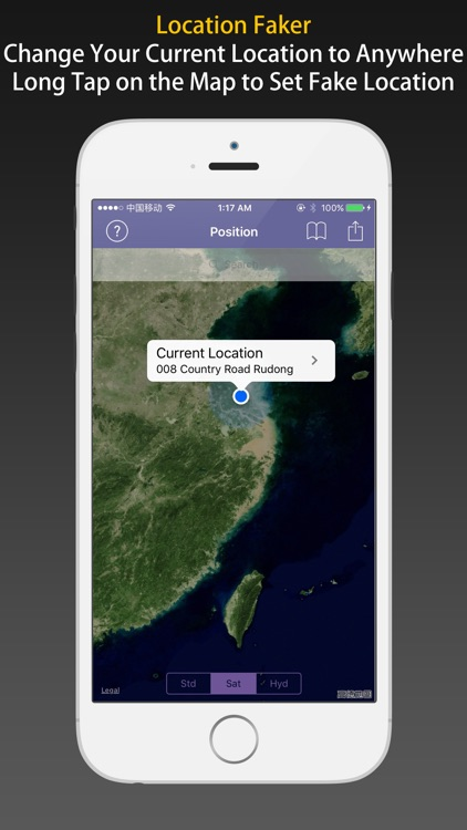 LocFaker - Change Current Location on the Map