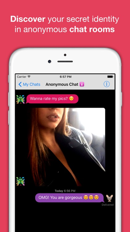 Anonymous Chat Rooms, Meet New People – AntiChat app image