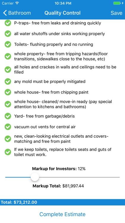 Scoper - Home Remodeling Estimator screenshot-3