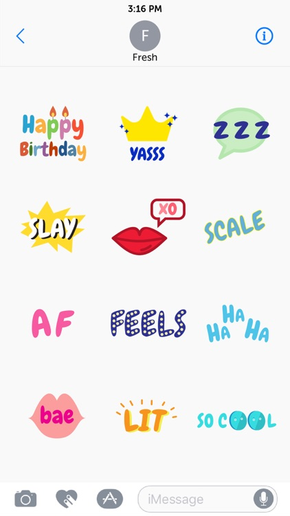 FreshMoji screenshot-4