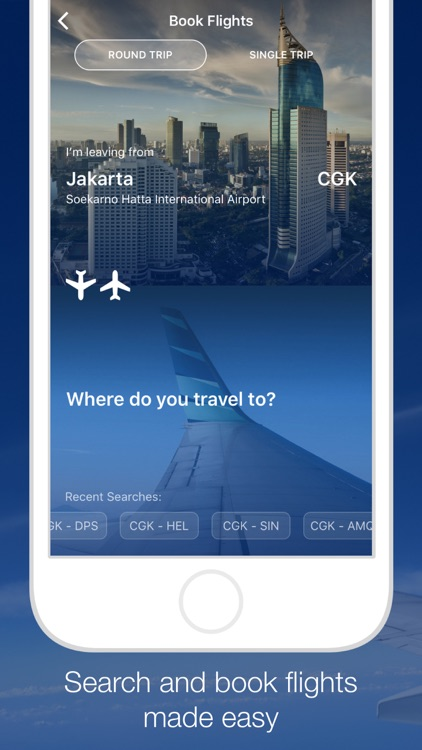 GARUDA INDONESIA MOBILE screenshot-1